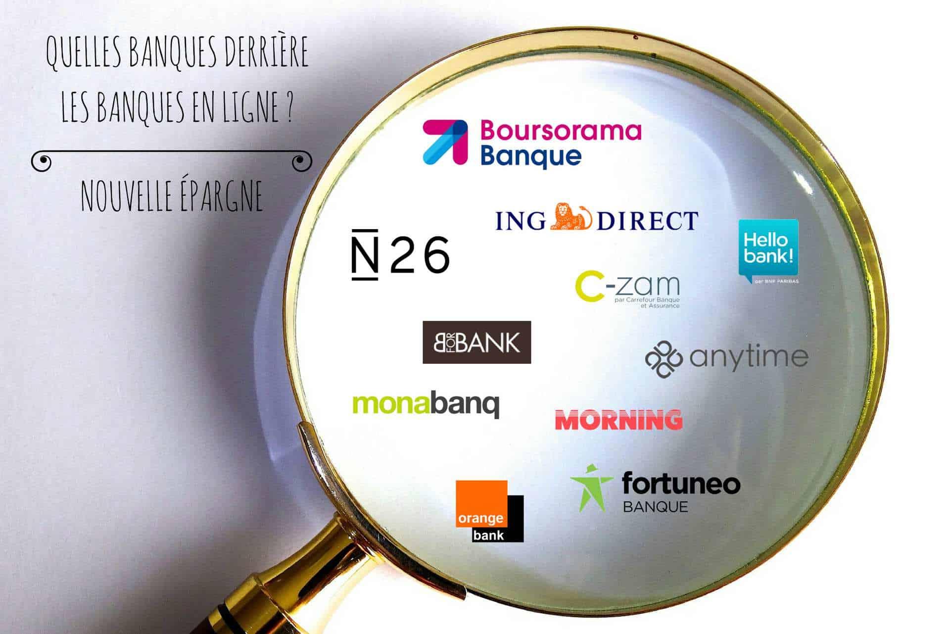 Selection des meilleurs banques en ligne du marché : notre TOP 10